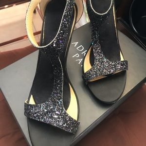 "Black 5"" Heels"